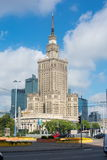 WARSAW, POLAND - JUNE 16: Palace of Culture and Science in Warsa Stock Photo
