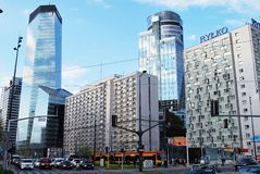 Warsaw Poland,6 May 2016.Q22 building Stock Photography