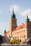WARSAW, POLAND-MAY 25: royal Castle on the Castle Square in the Stock Photo