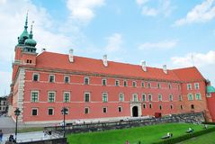 Warsaw Poland,22 May 2016.Royal Castle in Warsaw Royalty Free Stock Photo