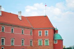 Warsaw Poland,22 May 2016.Royal Castle in Warsaw Royalty Free Stock Images