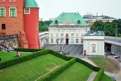 Warsaw Poland,22 May 2016.Royal Castle in Warsaw Royalty Free Stock Image