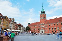 Warsaw Poland,22 May 2016.Royal Castle in Warsaw Stock Photo