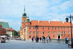 Warsaw Poland,22 May 2016.Royal Castle in Warsaw Stock Photography