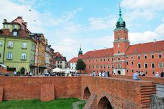 Warsaw Poland,22 May 2016.Royal Castle in Warsaw Stock Photos