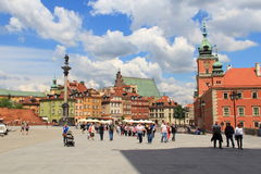 Warsaw Royalty Free Stock Photo