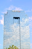 WARSAW, POLAND. Modern office building of the Warta insurance company Royalty Free Stock Image