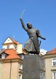 WARSAW, POLAND. Monument to Jan Kilinsky Stock Photos