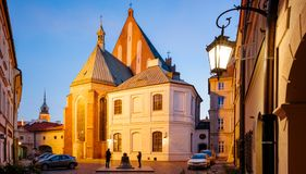 The wishing Bell in Warsaw, Poland royalty free stock images