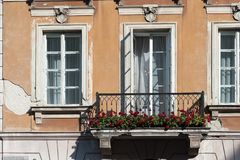 Warsaw Poland October 2014 City Center with East Europe and Modern Architecture Stock Photos
