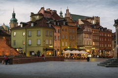 Warsaw Royalty Free Stock Photos