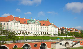 Warsaw, Poland. Old Town - famous Royal Castle фfter restaurati Royalty Free Stock Photos