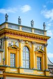 Palace in Warsaw Wilanow Stock Image