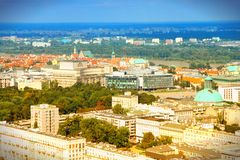 Warsaw, Poland Royalty Free Stock Photo