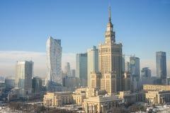 Warsaw Polen royaltyfri foto