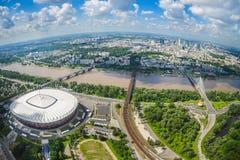 Warsaw Polen Royaltyfria Foton