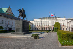 Warsaw - Presidential Palace Stock Photography