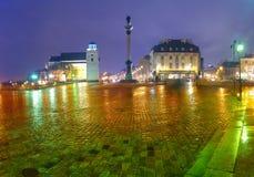Warsaw rain Stock Images