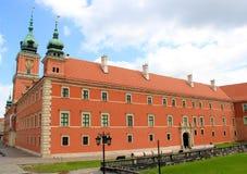 Warsaw Royal Castle Stock Photos
