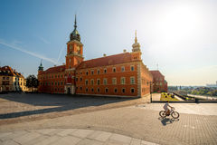 Warsaw Royal castle Royalty Free Stock Photography