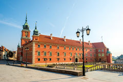 Warsaw Royal castle Royalty Free Stock Images