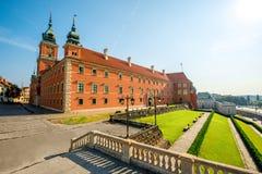 Warsaw Royal castle Stock Photo