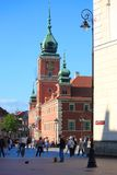 Warsaw Royal Castle in Poland Royalty Free Stock Photography