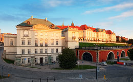 Warsaw - Royal Castle, Poland, Zamek Krolewsky.  Royalty Free Stock Image