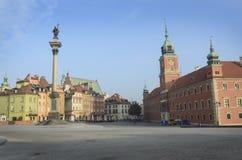 Warsaw royal palace Royalty Free Stock Images