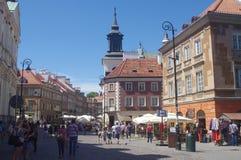 Warsaw's New Town, Poland Stock Photo