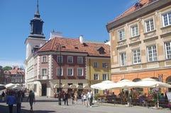 Warsaw's new town, Poland Stock Photos