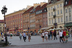 Warsaw's Old Town, Poland Royalty Free Stock Image