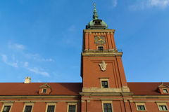Warsaw's royal castle Royalty Free Stock Photo