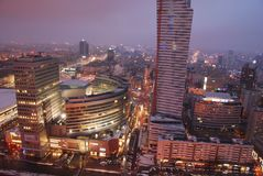 Warsaw's skyscrapers Stock Photo