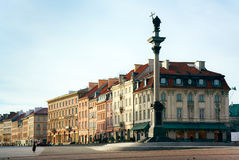 Warsaw - Sigismund's Column on Castle Square Royalty Free Stock Photo