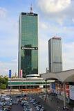 Warsaw Skyscrapers Stock Photos