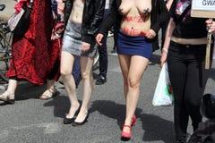 Warsaw Slut Walk Stock Photography