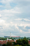 Warsaw Stadium Royalty Free Stock Photography