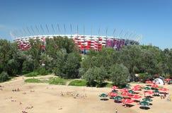 Warsaw stadium Stock Images