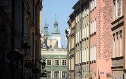 Warsaw, street Stock Image