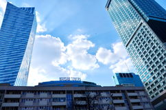 Warsaw Towers Stock Photography