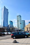Warsaw Towers Royalty Free Stock Images