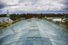 Warsaw University Library Roof Garden Royalty Free Stock Photography