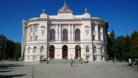 Warsaw University of Technology Royalty Free Stock Images