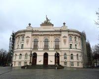 Warsaw University of Technology University, Poland Royalty Free Stock Image