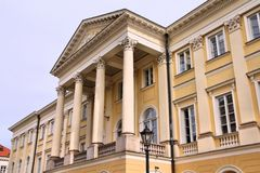 Warsaw University Stock Image