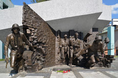 Warsaw Uprising Monument, Warsaw (Poland). Warsaw Uprising Monument is dedicated to the Warsaw Uprising of 1944. Unveiled in 1989, it was sculpted by Wincenty Stock Photos