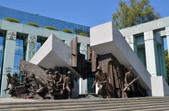 Warsaw Uprising Monument, Warsaw (Poland) Stock Photos