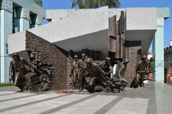 Warsaw Uprising Monument, Warsaw (Poland) Royalty Free Stock Photo