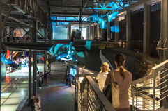 Warsaw Uprising Museum. One of the exhibition halls at the Warsaw Uprising Museum - Warsaw, Poland Stock Photos